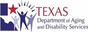 Texas Department of Aging and Diability logo