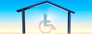 Housing  for persons with diability logo